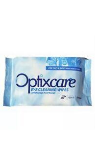 Optixcare Eye Cleaning Wipes (50 Wipes)