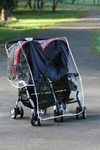 NEW Diono Double Stroller Universal Size Rain Cover from Baby Barn Discounts