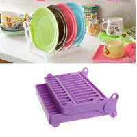 1Pc Folding Dish Drying Rack Drainer Kitchen Holder Tray Organizer Storage New