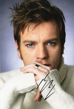 Ewan McGregor, Scottish film star, actor, signed 12x8 inch photo. COA. Proof.