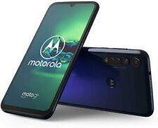 Motorola G8+ 64GB Hybrid Dual SIM GSM Unlocked Phone XT2019-2 - Blue