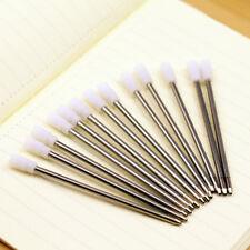 10pcs Bulk 7cm Black Ballpoint Ball Point Pen Ink Refill Cartridge f Crystal Pen