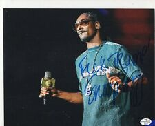Snoop Dog 8x10 Photo Signed Autographed Auto F#K Trump inscribed holo coa