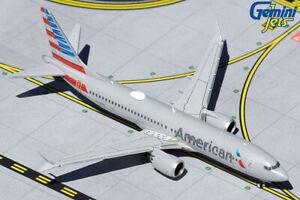 GEMINI JETS AMERICAN AIRLINES BOEING 737 MAX-8 1:400 DIECAST GJAAL1863 IN STOCK