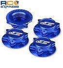 JConcepts Fin 1/8 Serrated Light-Weight Wheel Nut Blue (4) JCO2451-1