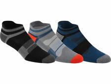 Asics 3 Pack Crew Training Socks White Unisex Mens Womens Sizes UK 2-13