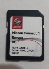 Tarjeta SD Nissan Connect 1 mapa Micra Note Cube Qashqai Juke KE288-LCN1E15 V6