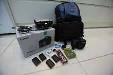 Canon EOS 6D 20.2MP Digital Camera Body Only - Black Plus Accessories!