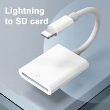 For Apple LightningTo Sd Card Camera Reader Tail Adapter Iphone Ipad