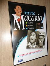 DVD TUTTO MACARIO IL CINEMA COME SCOPERSI L'AMERICA