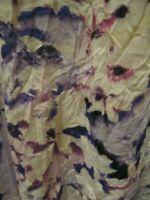 Simply Vera Wang Crinkle Sleeveless Tank Womens XL Floral Print NWT Retail $32