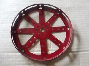 MECCANO Red 5.5 inch Hub Disc No 118