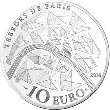EUR, France, Monnaie de Paris, 10 Euro, Opéra Garnier, 2016, FDC, Argent #98189