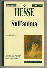 LIBRO - E.   HESSE SULL'ANIMA