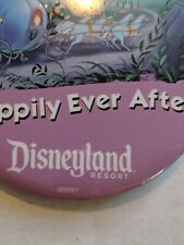 Lot of 2 Disneyland Resort Happily Ever After Button Cinderella Castle
