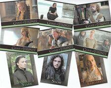 Game Of Thrones Season 5: 100 Card Basic/Base Set & Free P1 Promo Card