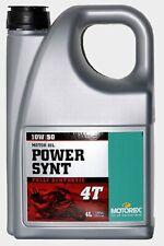 MOTOREX Motoröl  -  Power Synt 4T 10W/50 (16,49€/L incl. Versand)