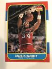 1986-87 Fleer #7 - Charles Barkley Rookie Card RC - Sharp Corners!