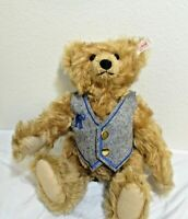 Steiff Century Bear Mohair Jointed Collectable w/ Glass Eyes