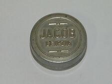 Jacob Leipzig Kleine Runde Blechdose Uhren,Sammler Dose Büchse Etui Box