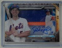2015 Topps Strata Series Two David Wright Auto Patch 1/25 New York Mets #ssr-dw