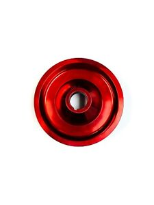 Red Crank Pulley For 97-99 CL 90-02 Accord 92-96 Prelude 2.2/2.3L SOHC By OBX
