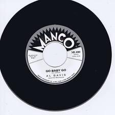 AL DAVIS - GO BABY GO / RICKY TIC - MONSTER & KILLER GUITAR ROCKABILLY JIVER