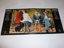 ABBA - Greatest Hits - Late 70s UK orange Epic label third issue 15-track LP
