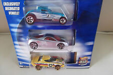 Hot Wheels Highway 35th Anniversary Collector Guide & 3 Cars