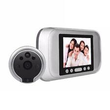 """720P 3.2"""" Digital Peephole Door Viewer 160° Wide Angle Doorbell Video Camera"""
