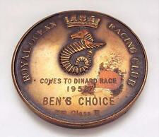 Vintage 1958 Royal Ocean Racing Club Medal / Medallion - Yacht Sailing