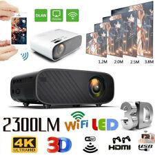 4K Videoproiettore 18000LM Full HD 1080P LED LCD Proiettore Home Cinema 3D WIFI