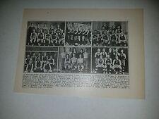 Parnassus High School PA Doylestown Mount Union 1913-14 Basketball Team Picture