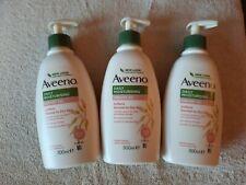 3 x Aveeno Daily Moisturising Creamy Oil 300 ml Almond Scent