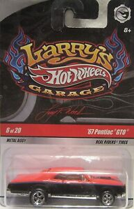 Hot Wheels Larry's Garage #6 OF 20 '67 PONTIAC GTO Real Riders
