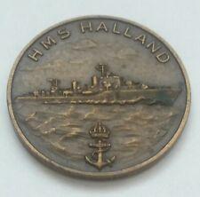 medal ship HMS Halland sommarresan 1967 Sweden rare