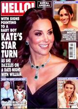 HELLO MAGAZINE 5th MAR 2018 ~ KATE MIDDLETON ~ MEGHAN MARKLE - ROYAL SPECIAL