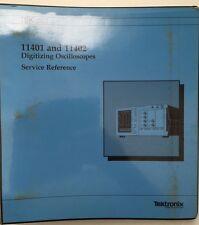 Tektronix 11401 Amp 11402 Oscilloscopes Service Reference Manual Pn 070 6779 02