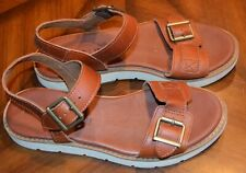 Timberland Brown Leather Sandals Womens Sz 6