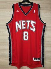 Brooklyn Nets Deron Williams #8 NBA Adidas Basketball Jersey Shirt 2XL length +2