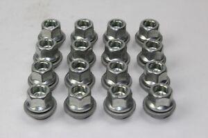 Set Wheel Nuts 16 Piece - Open - Ford Alloy Wheels 1366432 16x