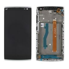 PANTALLA COMPLETA LCD + TACTIL + MARCO ALCATEL ONE TOUCH ORANGE NURA M812 NEGRO