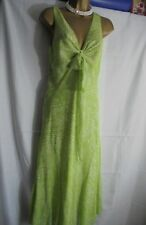 Ex Per Una Marks and Spencer Green White Summer Dress