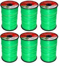 9 Lot 3 lb Spools Rotary 12153 Orange Diamond Cut Trimmer Line .155 x 285/'