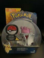 Pokemon Tomy Ditto Figure + Poke Ball New