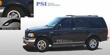 BLACK PAINTABLE Rugged Style Fender Flares 97-02 Ford Expedition Complete Set