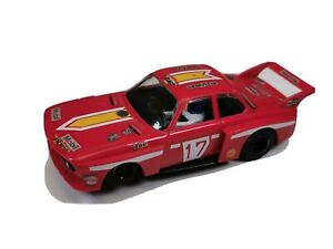 Red Scalextrix Rally Car