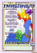 The JGB Band The Broken Angels Maritime Hall Poster 1997 Dec MHP# 40