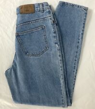 Abercrombie & Fitch High Waist Tapered Leg Denim Jeans Vintage Size 10 Made USA