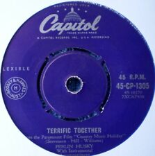 "FERLIN HUSKY-TERRIFIC TOGETHER/THE KINGDOM OF LOVE ""RARE OZ"" 45 RPM 7"""